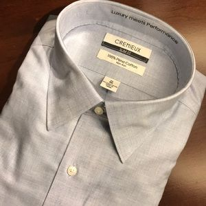 Cremieux Slim Fit Dress Shirt (17, 35) NWT
